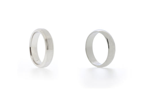 Can Wedding Rings be made in Silver