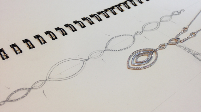 Redesigning a necklace
