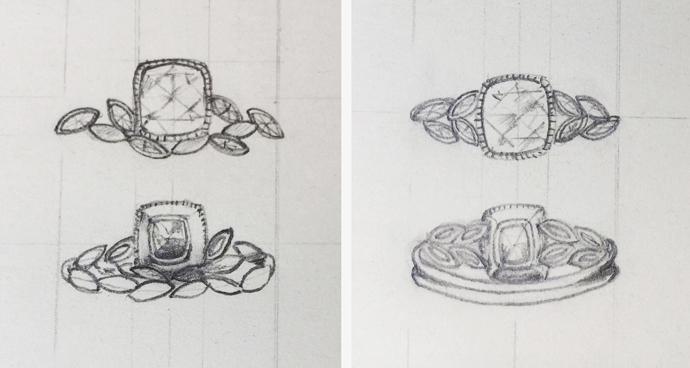 Sketch design options